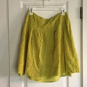 Anthropologie lace skirt 8